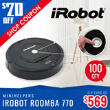 iROBOT ROOMBA R770 LOCAL WARRANTY FREE DELIVERY PLUG AND PLAY