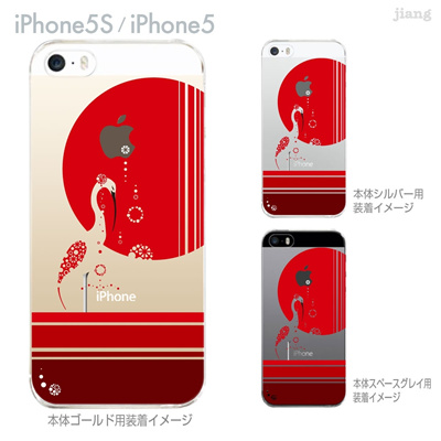 【iPhone5S】【iPhone5】【Clear Arts】【iPhone5sケース】【iPhone5ケース】【カバー】【スマホケース】【クリアケース】【クリアーアーツ】【izumi】【白鷺】 49-ip5s-iz0007の画像