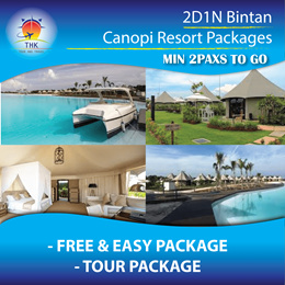 2D1N Bintan Canopi Resort package