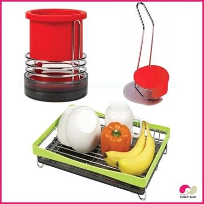 【日用品】 spider loc kitchenキッチン 3setB(red)の画像