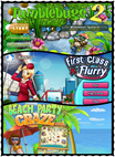 (Used) Safari Casual Games/Window CD Rom/PC Games/First Class Flurry/Beach Party Craze/Tumblebugs 2
