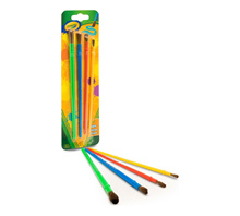 【Buy 1 Get 1 Free】Crayola Washable Kids Paint (6 colour) *Free* Crayola Art Craft Brushes