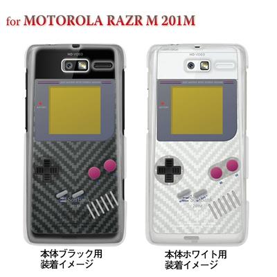 【MOTOROLA RAZR ケース】【201M】【Soft Bank】【カバー】【スマホケース】【クリアケース】【クリアーアーツ】【懐かしのゲーム】 08-201m-ca0075の画像