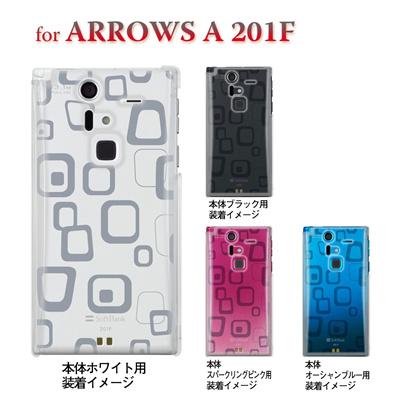 【ARROWS ケース】【201F】【Soft Bank】【カバー】【スマホケース】【クリアケース】【トランスペアレンツ】【ラフボックス】 06-201f-ca0021hの画像