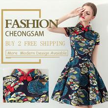 💕 Sepcail Promo  💕2019 PREMIUM Modern Cheongsam/Qipao/ CNY Dress/Embroidery DRESS