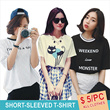 ★ $5 Promotions ★ Fashion Women's short-sleeved T-Shirt / Leisure / Working / Tourism / Entertainment