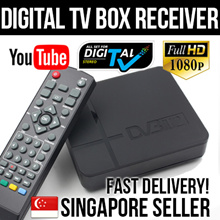 2019 Model Mini DVB-T2 Digital TV Box Singapore Receiver ★ 35dBi Digital Antenna ★ Local Warranty ★