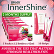 LIMIT 50 sets only! [NEVER BEFORE PRICE] 2 MONTHS SUPPLY BRANDS Innershine Berry Essence + Strips