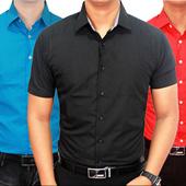 Update (29/04) Kemeja Kerja Kantor dan Formal Polos Pendek Pria - Slim Fit / Banyak Warna dan Motif / Best Selller / Premium Quality / kemeja kerja kemeja kantor kemeja formal