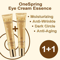 【1+1】 OneSpring Eye Cream Essence | Moisturizing / Anti-Wrinkle /Dark Circle/ Anti-Aging