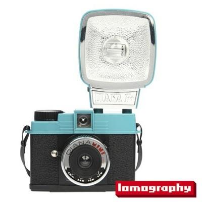 lomographyDIANA MINI AND FLASHロモグラフィ camera アナログ カメラ 35mmフィルム film ISO感度 100 200 400 800 10P13Dec13_m 【RCP】の画像