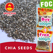 ★Buy 1 FREE 1★ Chia Seeds 500gm Promo!! ✮Chia Seeds from America