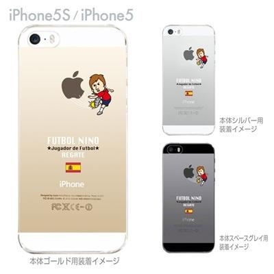【スペイン】【FUTBOL NINO】【iPhone5S】【iPhone5】【サッカー】【iPhone5ケース】【カバー】【スマホケース】【クリアケース】 10-ip5s-fca-sp07の画像