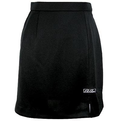 ABS(アメリカン ボウリング サービス) スリット スカート ブラック P-3300-1 【Pro-ama ボウリングウェア レディース ボーリング】の画像