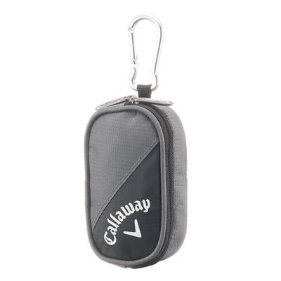 キャロウェイ (Callaway) Active Tee Case 15JM(アクティブティーケース)グレー×ブラック 5915249 [分類:ゴルフ ティー・その他]の画像