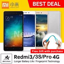 [NETT] Xiaomi Redmi 3/ Redmi 3 PRO Mobile Phone 4G ★16GB★ [100% Original!] Metal Body/Octa Core/2GBRAM/13MP/4100mAH (Export set/Brand New!!!/1 month warranty)★ReadyStock★