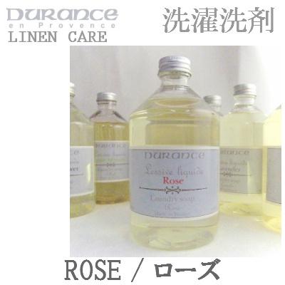 デュランスランドリーソープ(洗濯洗剤)ローズの香り500ml