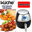 Kuche Air Fryer KAFD-311 with LCD Display/ Automatic Shut-Off Function/ Over-Heating Protection! *One Year Local Warranty*