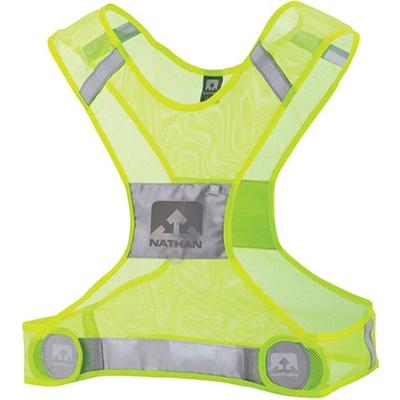 ネイサン(NATHAN) Streak Vest B61528000 HI-VIZYELLOW S/M 【ランニング ジョギング ナイトラン アクセサリー ベスト】の画像