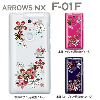 【ARROWS NX F-01F】【ケース】【カバー】【スマホケース】【クリアケース】【フラワー】【Clear Arts】【Vuodenaika】 21-f01f-ne0045の画像