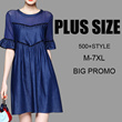 【25th Apr update 】 500+ style 2017  NEW PLUS SIZE FASHION LADY DRESS dress blouse TOP pan