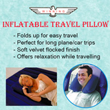 ★WINNING★ Inflatable Travel Pillow. Local In Stocks! FAST DELIVERY!