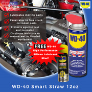 【WD-40】Smart Straw 12oz (Stops squeaks/ Loosens rusted parts / Drives out moisture)
