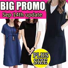 【Sep 14th】600+ style S-7XL NEW PLUS SIZE FASHION LADY DRESS OL work dress blouse TOP
