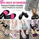 2015 HOT SUMMER! Women Fashion Sandals/ Platform Heels Slippers/Beach Sandals/Wedge Sandals/Roman summer Shoes/ Thick Platform Sandals/ Summer Slippers/Real Cheap!