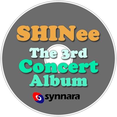 シャイニー-SHINEETHE3RDCONCERTALBUM[SHINEEWORLD?INSEOUL]2CD/SHINee