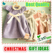 ★IMP HOUSE★[Christmas Gift][Cute Mini Dress Hand Towel]Kitchen/Bathroom Decorative Hand Towel with Wooden Hanger/Premium Quality