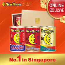 NEW MOON 3s Sapphire Giftset (AU Abalone 8-10pcs + Braised King Top Shell + CBK)*Inner tray varies