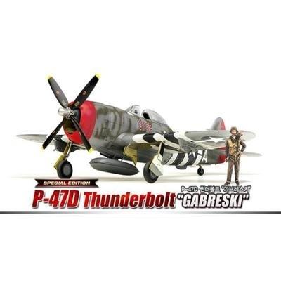 【クリックで詳細表示】[Academy] アカデミー プラモデル 12222 1/48 P-47D Thunderbolt GABRESKI / 送料無料
