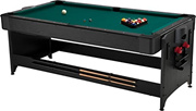[FAT CAT BY GLD PRODUCTS] 64-1046 - Fat Cat Original 3-in-1, 7-Foot Pockey Game Table (Billiards, Ai
