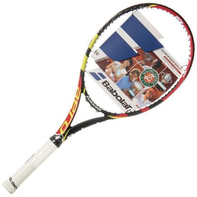 ◆即納◆バボラ(Babolat) アエロプロドライブフレンチオープン限定モデル YEL×BLK×RED 101223 【硬式 テニスラケット 未張り上げ ケース付き】の画像