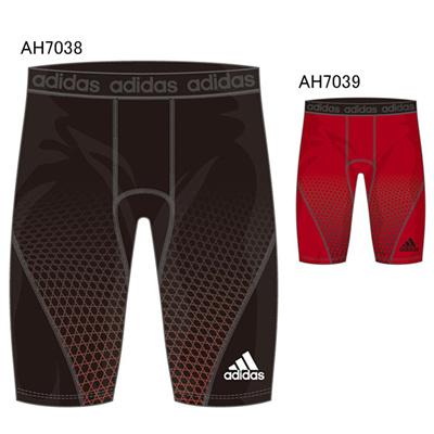 アディダス (adidas) M BC ICON ハーフタイツ BCN15 [分類:野球 コンディショニングパンツ・タイツ]の画像