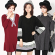 【The Da Da】NEW ARRIVALS good quality Lovely Sweet Dress plus size / T-shirts/ Casual loose / long-sleeved