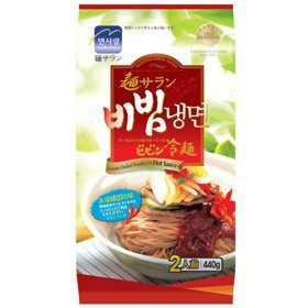 【韓国食品・韓国冷麺】 ■麺サランビビン冷麺セット(麺2個+ビビンソース2個)■の画像