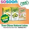 [True Citrus] Clearance Sales!! Bundle of 2 (32 packets / box) - Lemon/Lime/Grapefruit