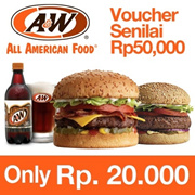 [Time Sale Event] AW Rp.50000 Voucher 60% OFF!