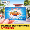 【iTravel eTicket】Universal Studio Singapore Ticket for Adults / Children 新加坡环球影城电子票 USS