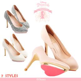 ♥New Arrival♥Gracegift-Disney Princess Aurora Heart Platform Heels/Sleeping Beauty/Women Shoes