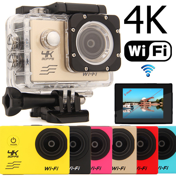 Allwinner V3 4K WiFi Sports Camera Underwater Camera Waterproof Diving Wide-angle 3D Aerial Camera Deals for only S$100 instead of S$0