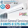 [Cool Channels]  PROMOTION - Air - Con General Servicing  3 Units for $75 Only |   100% Quality Job