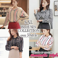 [CHICLINE] 2017 Special BLOUSE / S-XL size / Fast Shipping over 50 style Blouse / From Korea