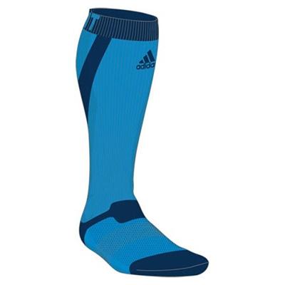 アディダス(adidas) techfit ハイソックス ITW42 S03331 ソーラーBLU S14 【ウエア ソックス 靴下】の画像