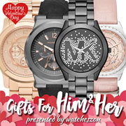 [WatchesZon] Michael Kors for him and her [Valentines Day Special Best Price Guarantee]