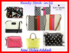 READY STOCK IN SG-KATE SPADE - SPECIAL PROMOTION-CROSS BODY-NEW STYLES