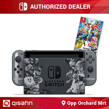 Nintendo Switch Console System Bundle w/ Super Smash Bros. Ultimate // 07 Dec Launch // Local Set