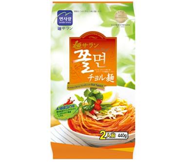 ■麺サランチョル麺セット440g(2人前)■ 【韓国食品・韓国食材】の画像